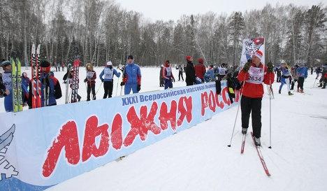 «Лыжня России – 2014» стартует в феврале
