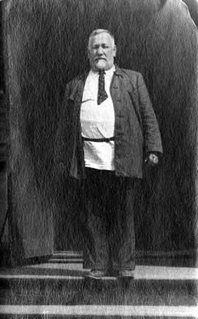 Церковный староста Василий Георгиевич Субботин (1884-1964).