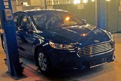 Новый Ford Mondeo замечен в России