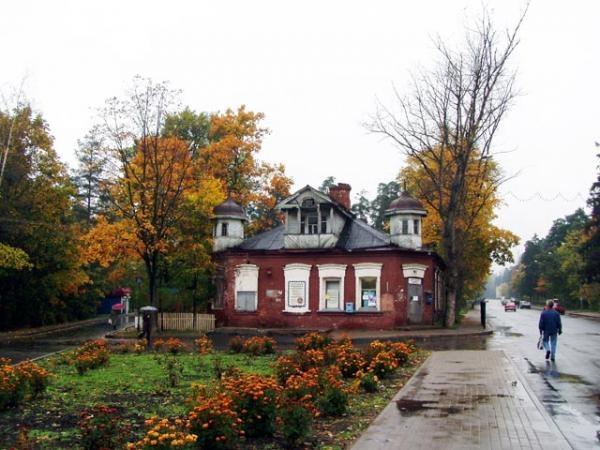 Дом купца Хомякова в начале 2000-ых годов.