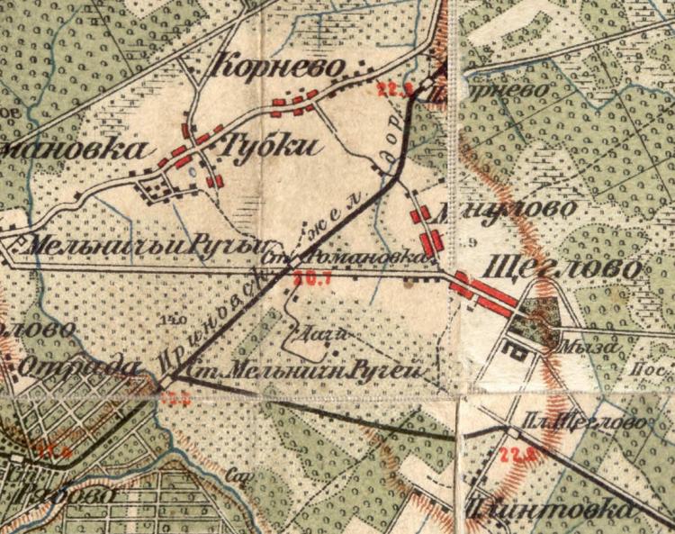 Проблема открытия почтово-телеграфного отделения в Щеглово в 1916-1917гг.