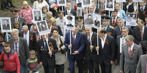 «Бессмертный полк» пройдет по 22 городам Ленинградской области
