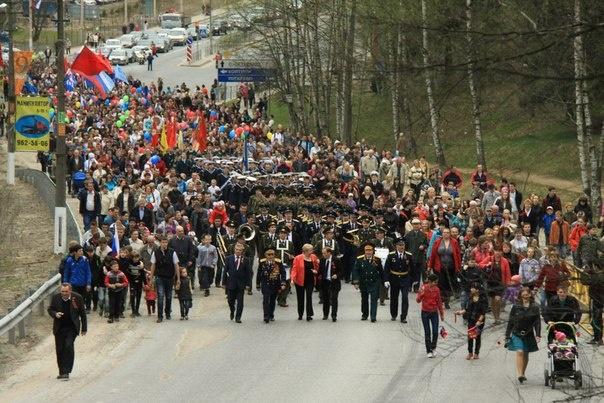 Ограничение движения 9 мая во Всеволожске. Фото Валерии Лазаревой