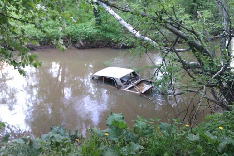"""""""Зелёный фронт"""" обнаружил загрязнение реки Оккервиль сточными водами с бывшей свалки"""