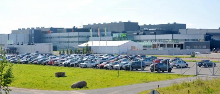 79% всех легковых шин Nokian Tyres за 2014 год было произведено во Всеволожске