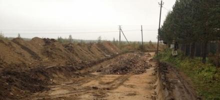 Частный собственник жалуется на строительство на его земле дороги в Касимово