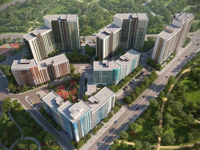 На рынок выведены квартиры в четвертом корпусе ЖК «Прогресс» в Кудрово
