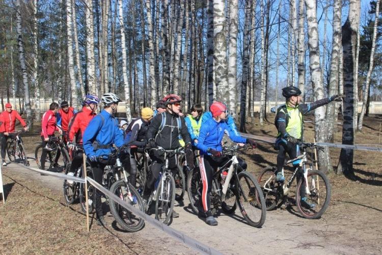 Вело-открытие в Токсово!