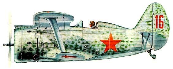 Истребитель И-153. На такой машине начал войну Лука Муравицкий