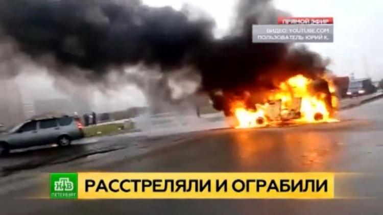 Расстрелянные в Мурино питерские омоновцы могли стать жертвами нелегальной инкассации (видео)