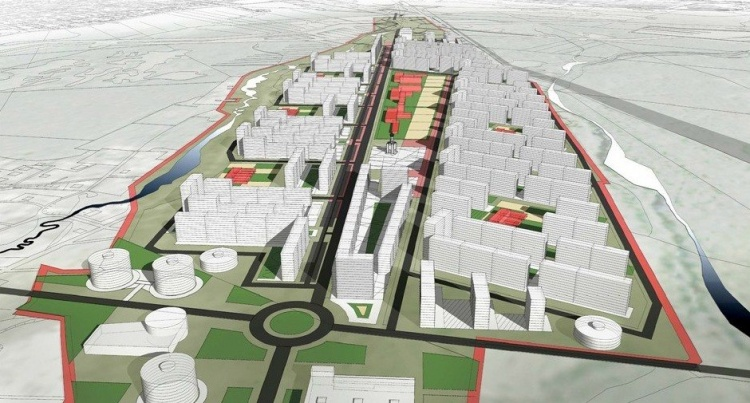 Утвержден проект планировки бывшего аэропорта «Ржевка», где построят 1 млн кв. м жилья