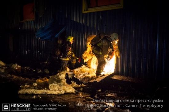 Во время пожара в Романовке пострадал мужчина
