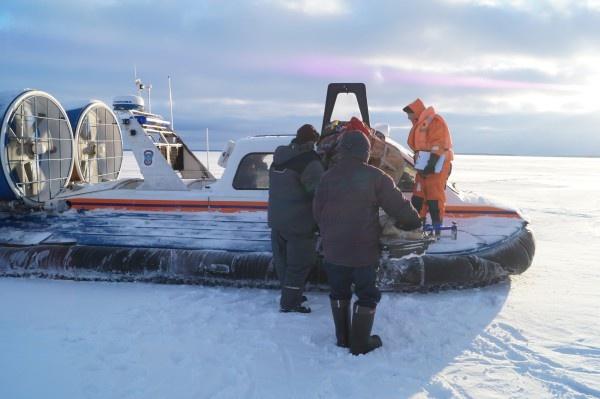 На Ладожском озере спасен рыбак