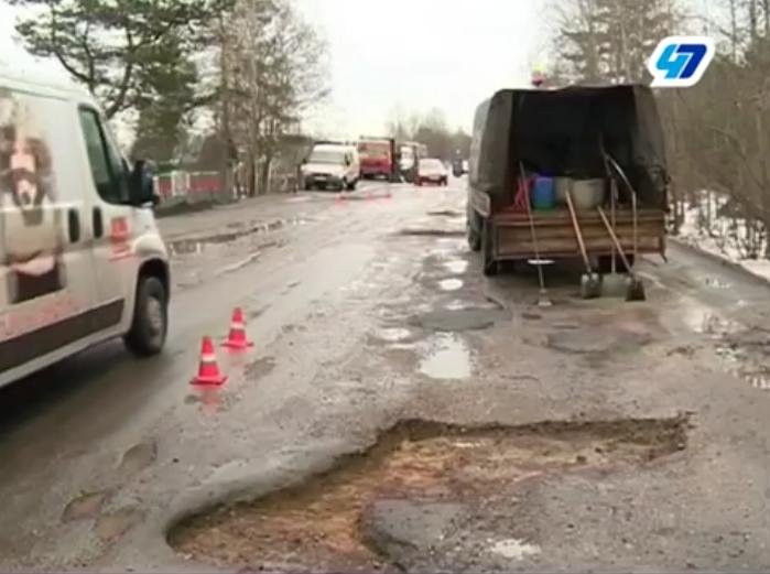 На ямочный ремонт областных дорог выделят дополнительные деньги (видео)