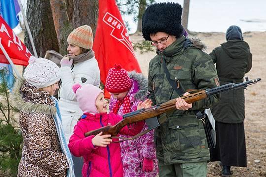 Состоялся финальный этап ежегодных военно-патриотических мероприятий «Ладожский лёд»