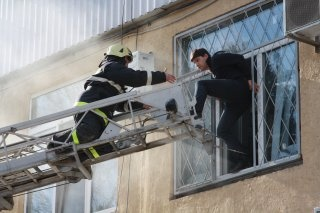 В администрации эвакуировали сотрудников