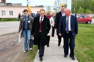 Администрация Всеволожского района с плановой рабочей поездкой побывала в Свердловском городском поселении