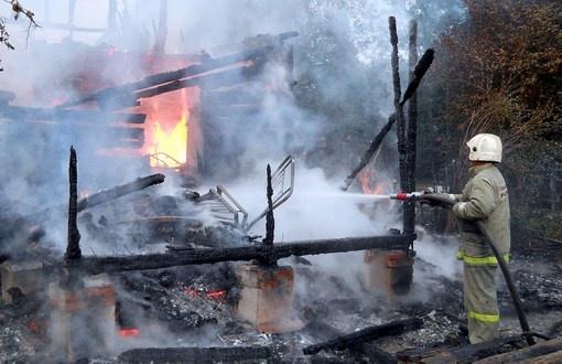 В Васкелово при пожаре из-за неисправного холодильника погибла пожилая петербурженка