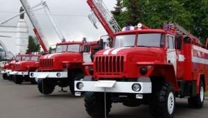 Пожарные поселка имени Свердлова получат современную машину повышенной проходимости