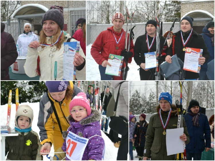 7 февраля состоялись соревнования по лыжным гонкам «Муринская Лыжня – 2015».