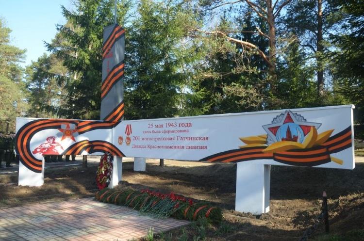 К 70-летию Победы в Великой Отечественной войне завершена реставрация стелы в Токсово