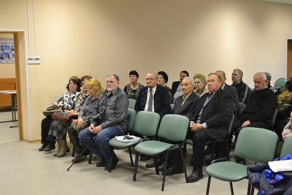 Итоги встречи ветеранов п. Мурино с главой муниципального образования