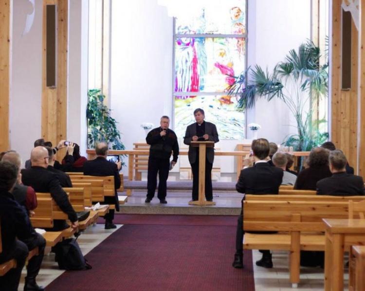 В Колтушской церкви Св. Георгия состоялось празднование 20-летия Теологического института Церкви Ингрии