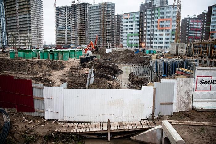 Стройки Кудрово встанут в стойку