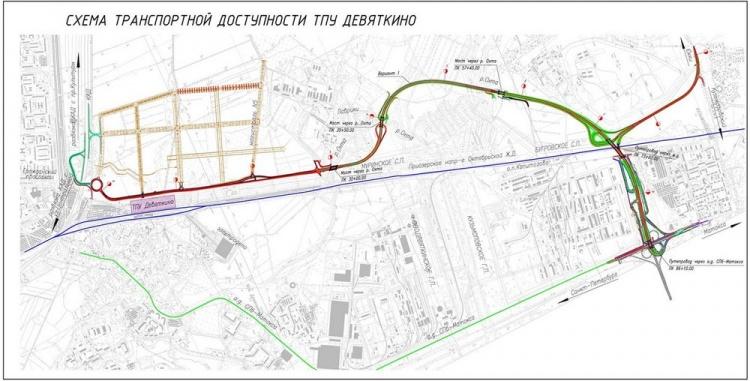 Обход Мурино и Нового Девяткино в Ленобласти обойдется в 3,4 млрд рублей