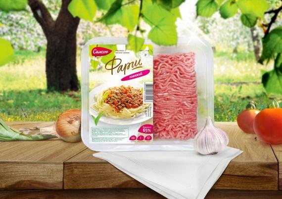 Агентство :OTVETDESIGN провело редизайн марки полуфабрикатов САМСОН мясокомбината Всеволожский