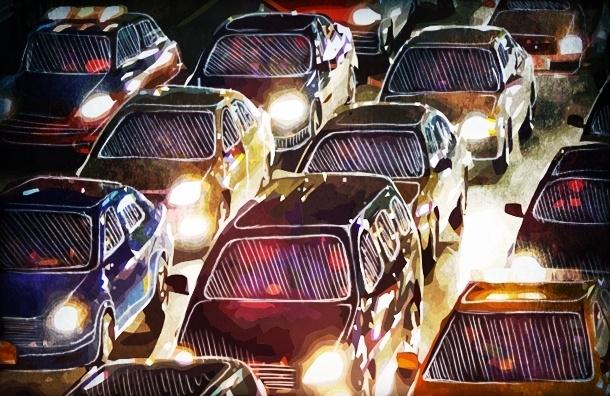 Пригородам Петербурга грозит транспортный коллапс. Фото: Дмитрий Кутиль