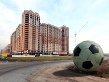 Новостройки Кудрово разбавят большим футболом