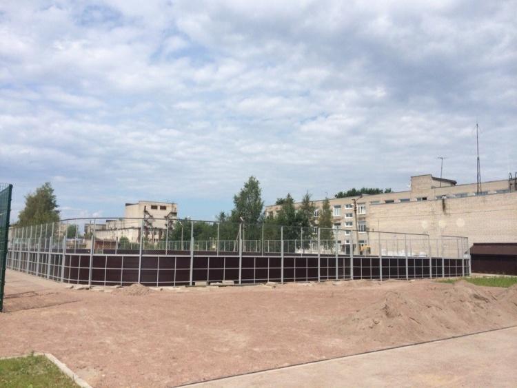 В Лесколово откроют новый стадион