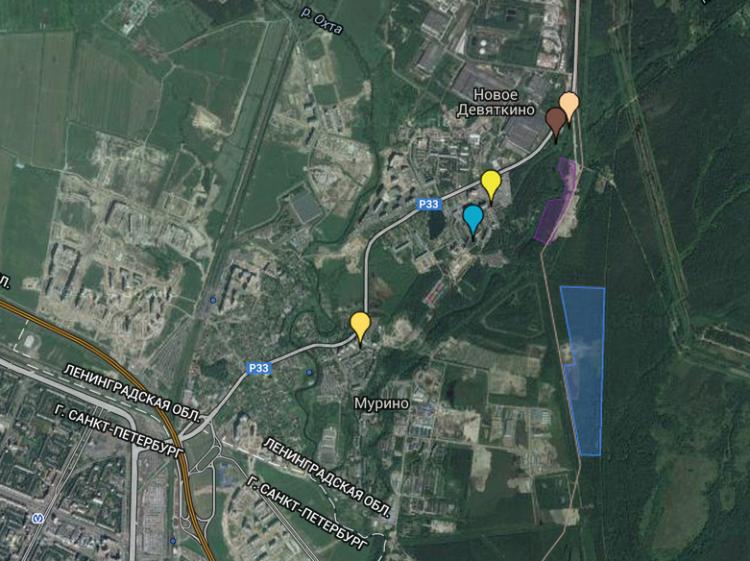 Группа «ЦДС» продает участки в промышленной зоне Мурино