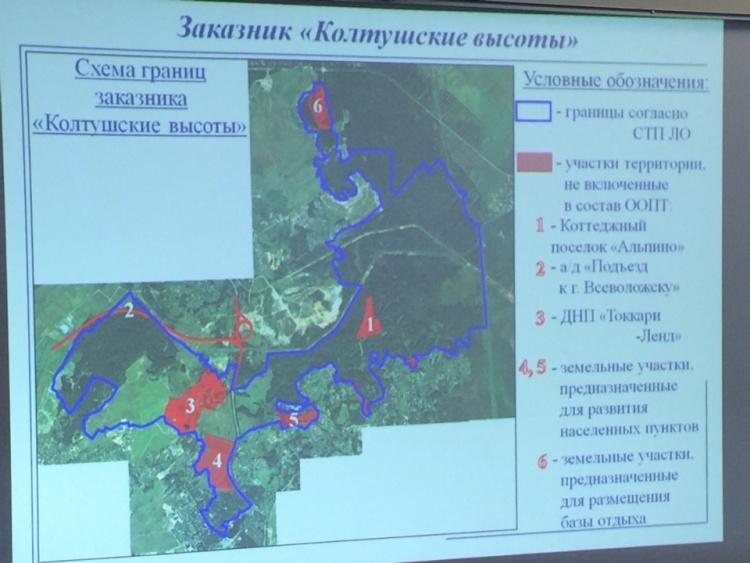 Комитет по природным ресурсам ЛО опровергает сведения из письма активистов Дрозденко