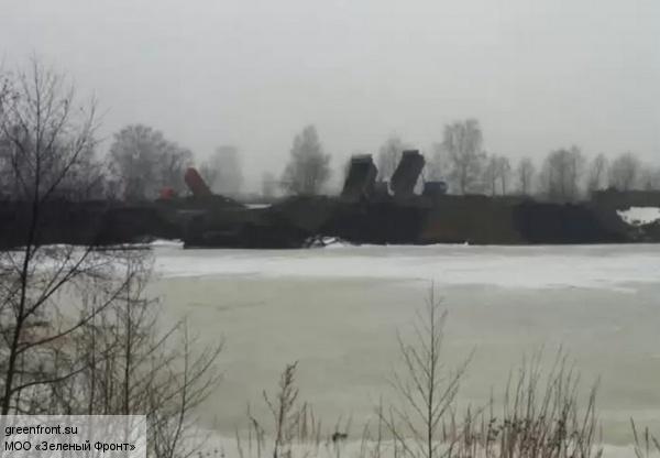 «Метрострой» участвует в погребении поселка имени Свердлова под гнетом отходов