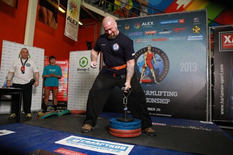 В Кудрово пройдёт Чемпионате Мира по армлифтингу 2015