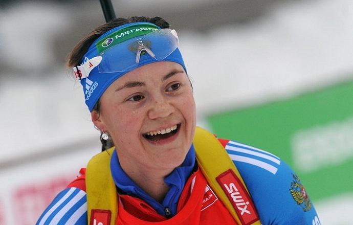 Уроженка Лесколово Екатерина Юрлова выиграла индивидуальную гонку на Чемпионате мира по биатлону
