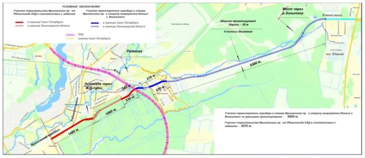 Аэропортовскую улицу во Всеволожске планируют превратить в оживлённую трассу