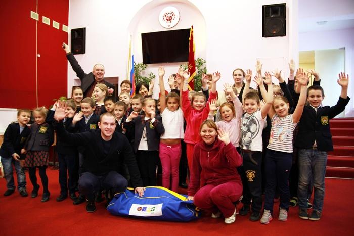 Гимназия во Всеволожске присоединилась к школьному гольфу