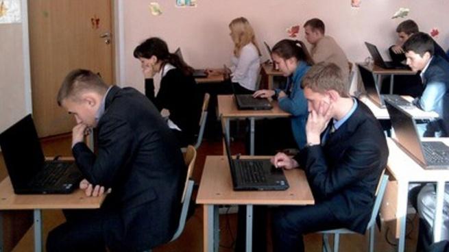 В Лесколовском центре образования провели профориентационное тестирование школьников
