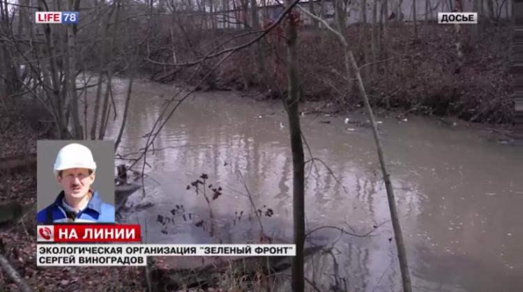 В реке Оккервиль опять обнаружены опасные вещества (видео)