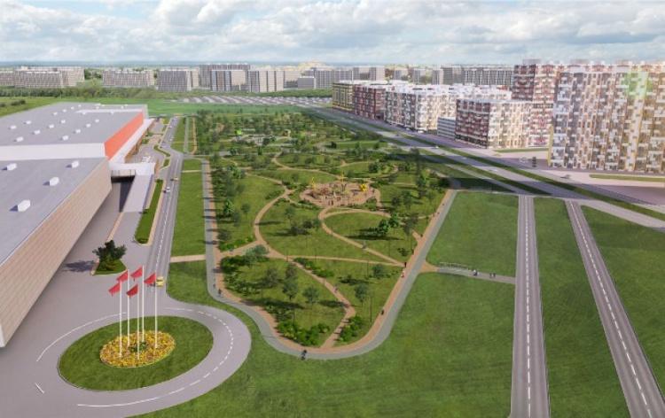 Жители Кудрово смогут выбрать один из трех проектов будущего парка