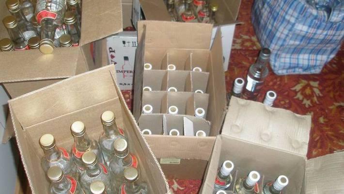 В поселке имени Свердлова полиция пресекла факты продажи алкоголя без лицензии