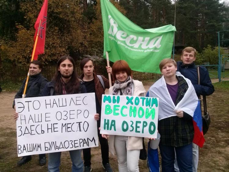 В Новом Токсово пройдет пикет против незаконного захвата леса