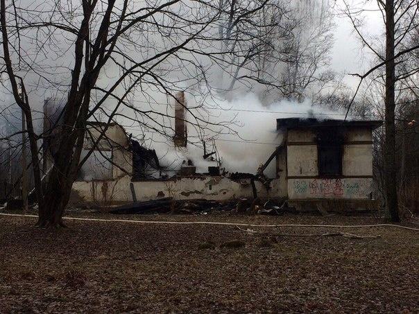 Пожар в доме-музее академика Павлова ликвидирован, пострадавших нет