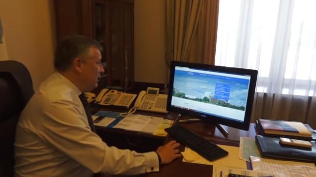 Губернатор Ленобласти оставил жалобу в Интернете на незаконную свалку (видео)