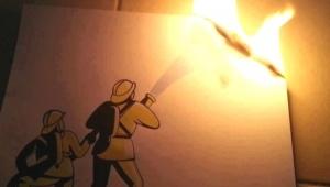 Пожарные Всеволожска «отрепетировали» тушение пожара в городском доме культуры