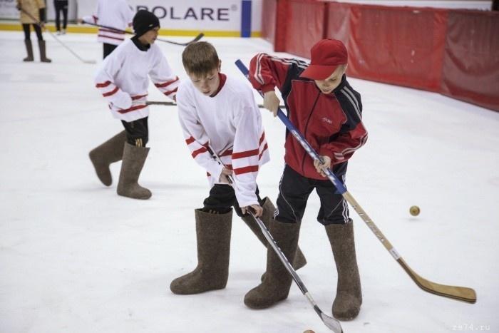 Ирина Роднина откроет в Луге финал чемпионата по хоккею в валенках