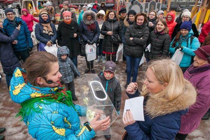 В ЖК «Австрийский квартал» прошли проводы Масленицы